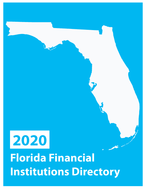 2020 Florida Financial Institutions Directory Print + 12-month Online Combo - $95.00 (Jan/Feb 2020)